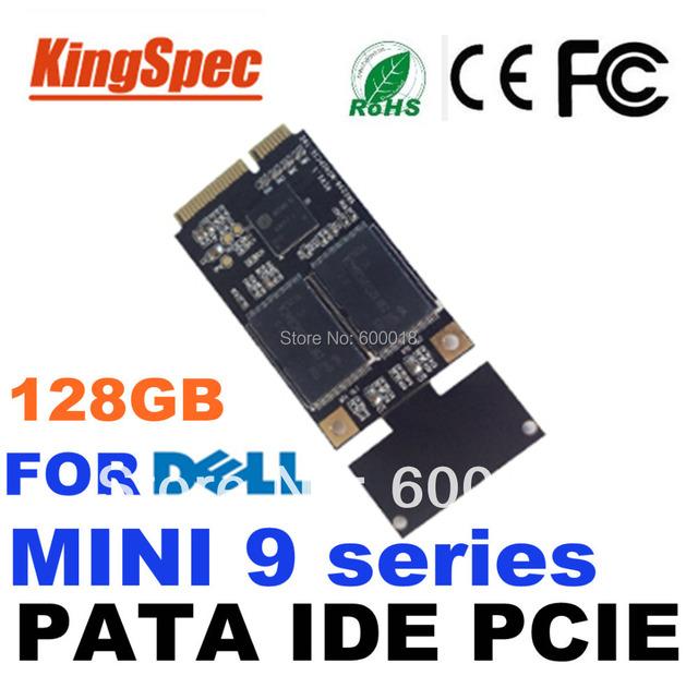 L pat kingspec mini pcie ide ssd disco duro de estado sólido unidad de disco 128 gb 4-c para dell mini9 series vostro a90 envío gratis