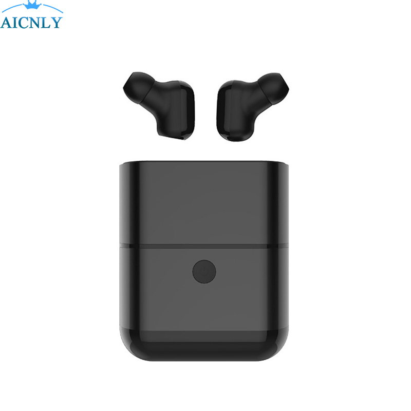Bluetooth Earphone Sport Headset in Ear Buds Wireless Earphones Earpiece Hands-free With Mic Charging Box for Phones Stereo mifo i8 bluetooth earphone magnetic suction charging wireless headset in ear earpiece sports stereo music earphones for phones
