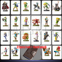 22 Pcs Game New Data Collection Tag NFC Cards 20 Heart Wolf Link For Legend Of