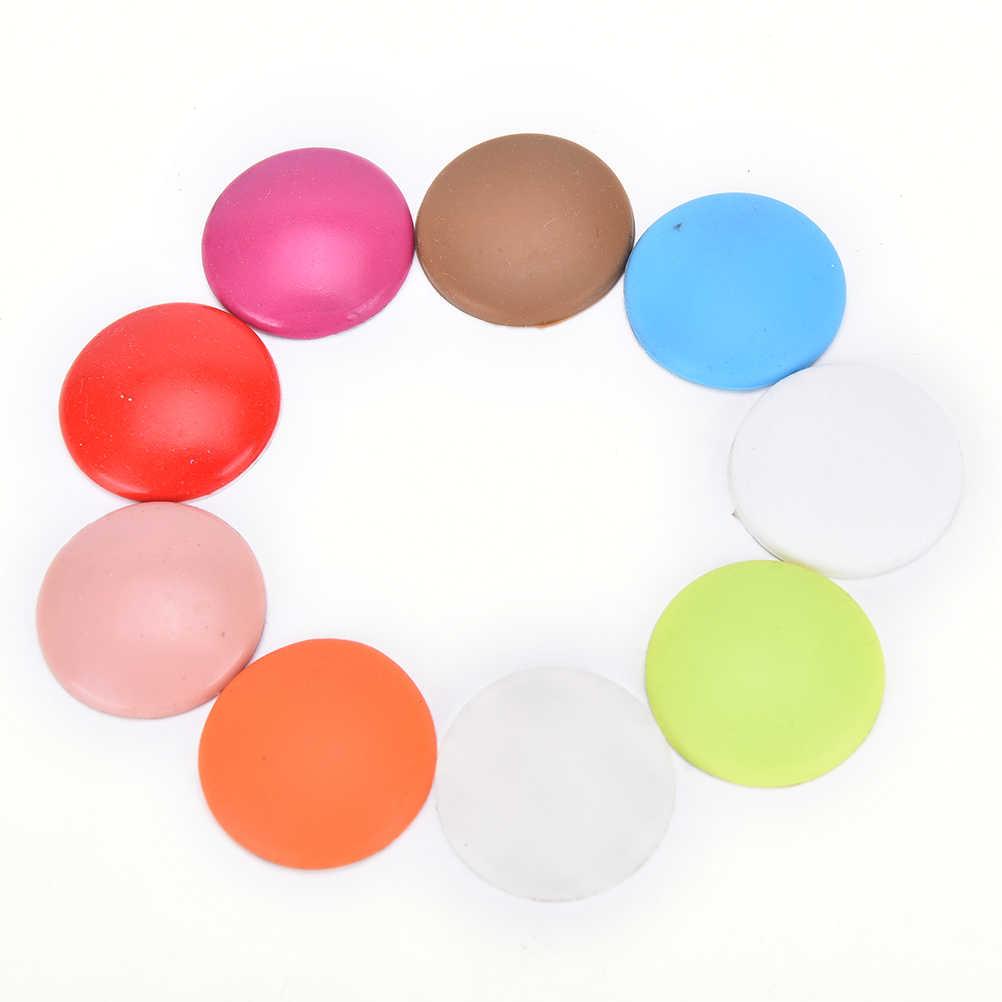 Ścienne pogrubienie wyciszenie Stick okrągłe silikonowe klamka do drzwi zderzak pad zamki ochronne ziarno zderzak pad losowy kolor wysokiej jakości