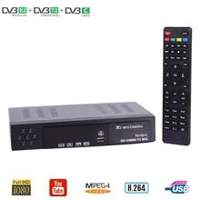 HD Digital DVBT2 DVBS2 DVBC Three In One TV Receiver Support