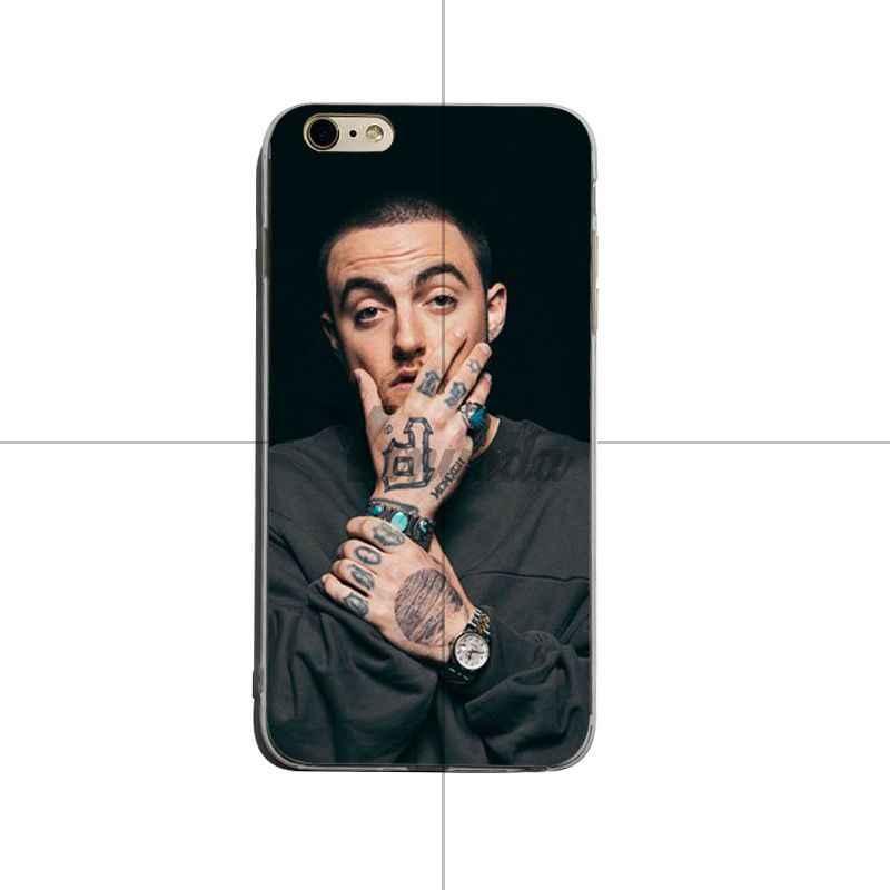 Yinuoda rappeur Mac Miller transparent doux tpu housse de téléphone pour iPhone 8 8plus 7 7plus 6 6splus X XS XR couverture