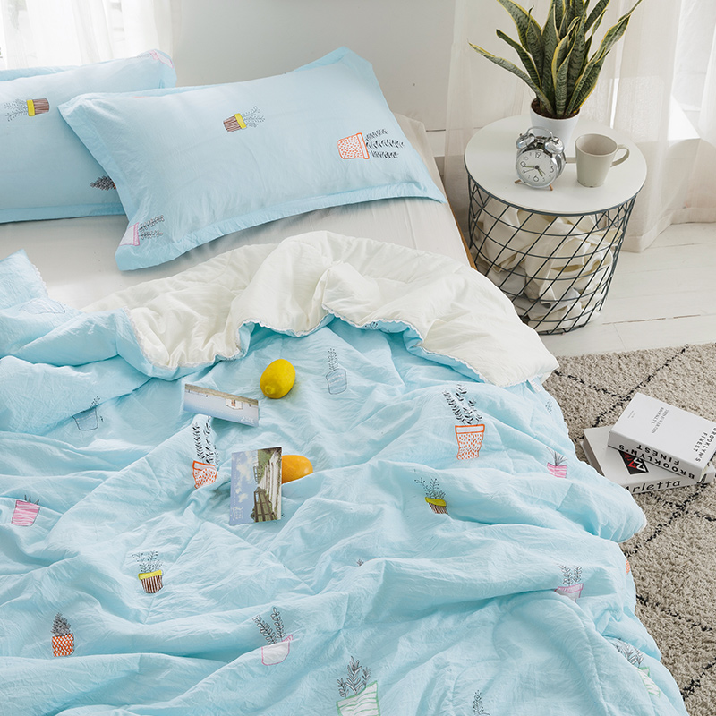 Summer Coverlets 100 Cotton Patchwork Quilt 1pc Twin Size Student