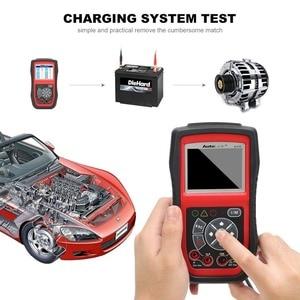 Image 4 - Autel Collegamento Automatico AL539 OBDII Test Elettrico Strumento di Strumento di Auto AL 539 OBD2 Scanner Aggiornamento Gratuito a Internet Circuito di Tensione di Avvio Tester PK AL539B