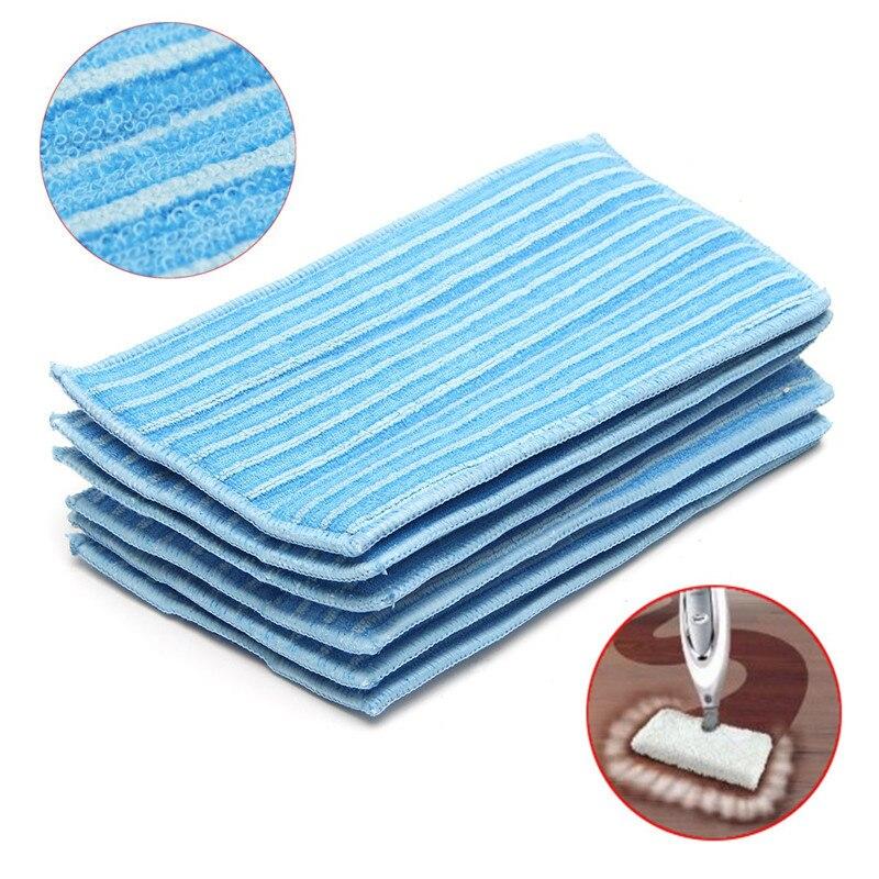 Acheter 6 Pcs Steam Mop Tampons De Nettoyage de Remplacement Microfibre Serpillière Pour Steam Mop Haan Nouveau de cloth microfiber fiable fournisseurs