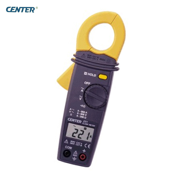 CENTER-221 Auto Ranging Low Cost Pocket Clamp Meter platinor platinor 50200 221