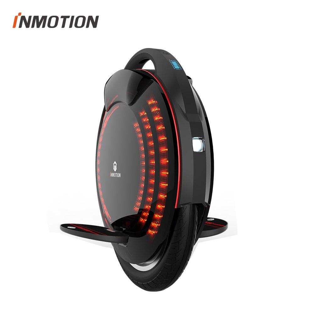 INMOTION V8 APP Apoiado Smart 30 kmh Equilíbrio Elétrico Monociclo Uma Roda de Scooter