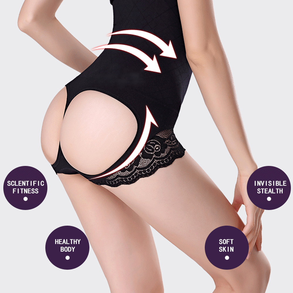 Waist Trainer Control Panties For Women Body Modeling Belt Shaper Tummy Control Pulling Underwear High Waist Slim Butt Lifter