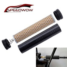 SPEEDWOW Fuel Trap/Solvent Filter Aluminum Fuel Filter 1/2-28 Thread Turbo Air Filter Low Profile For NAPA 4003/WIX 24003 цена