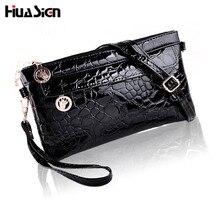 Brand Designer clutch female 2016 summer for Crocodile women's handbag messenger bag small bag messenger bags ZQ4
