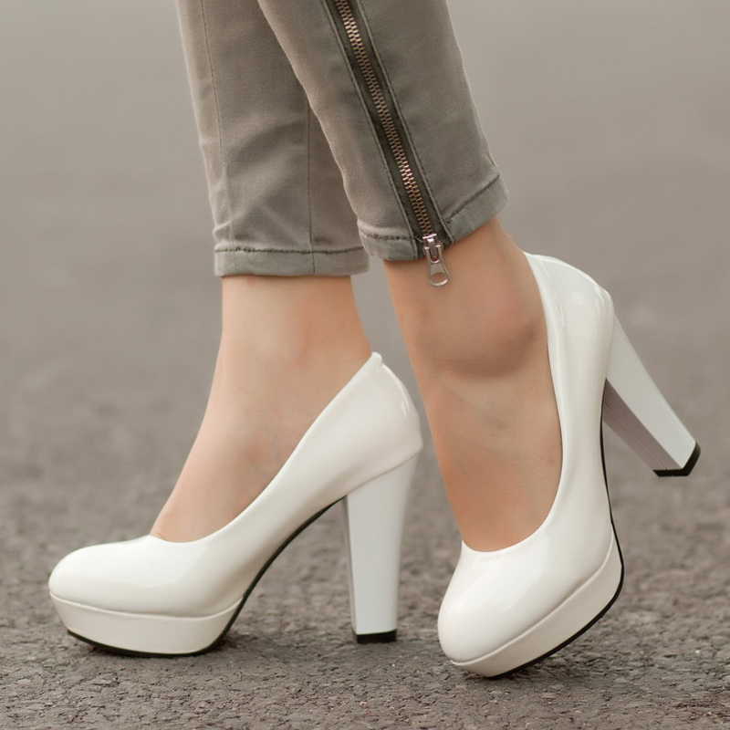 Popular White Wedding Shoes-Buy Cheap White Wedding Shoes lots ...