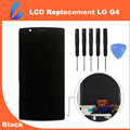 LL TRADER 100% Brand New Black LCD Touch Screen For LG G4 Display Replacement Digitizer H810 H815 VS999 Frame Assembly Toolkits