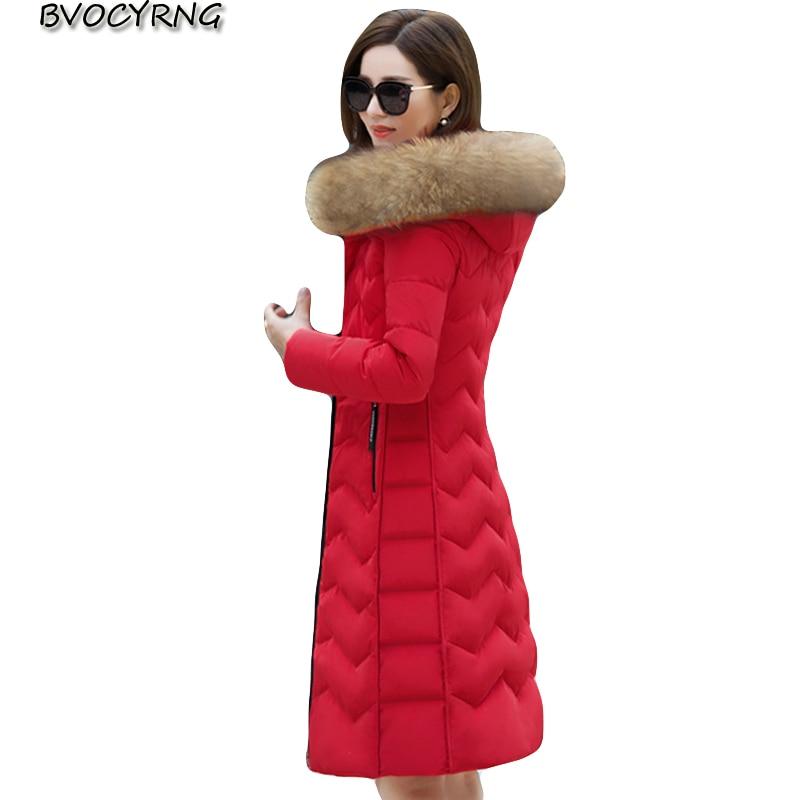 Winter New   Down     Coat   Women High-end Real Fur Collar Fashion Slim Parka Female Long High Quality White Duck   Down   Warm Jacket