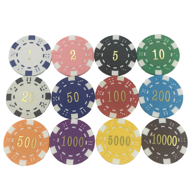 Casino poker chips value pala indian casino shows