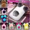 Super Cute PANDA Real Rex Rabbit Fur Phone Case For Iphone 7 6 6S Plus 5C