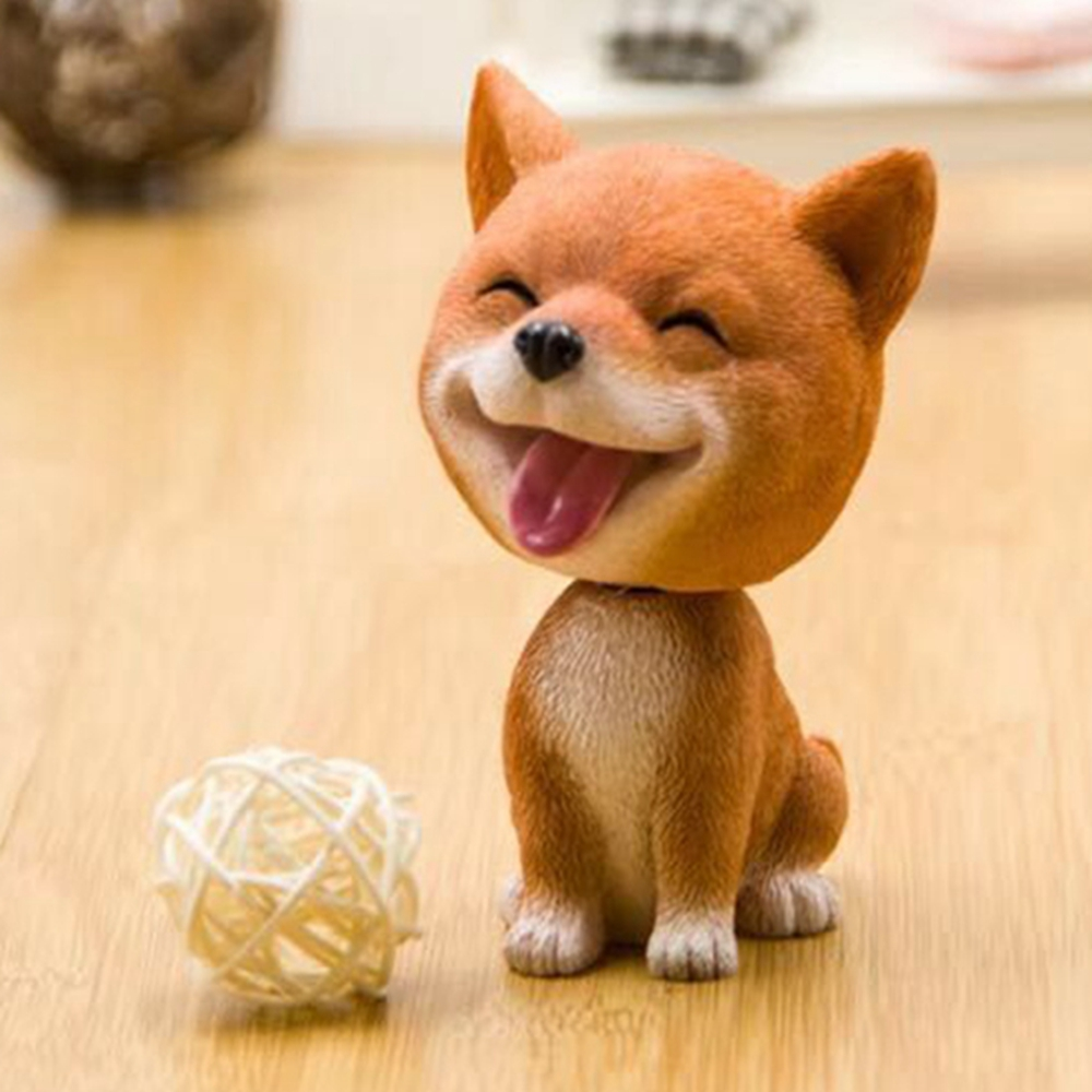 Interior Accessories Car Ornaments Dog Nodding Puppy Toys Car Dashboard Decor Toy Lovely Wobble Shaking Head Dolls Auto Interior Accessory For Bmw Automobiles & Motorcycles