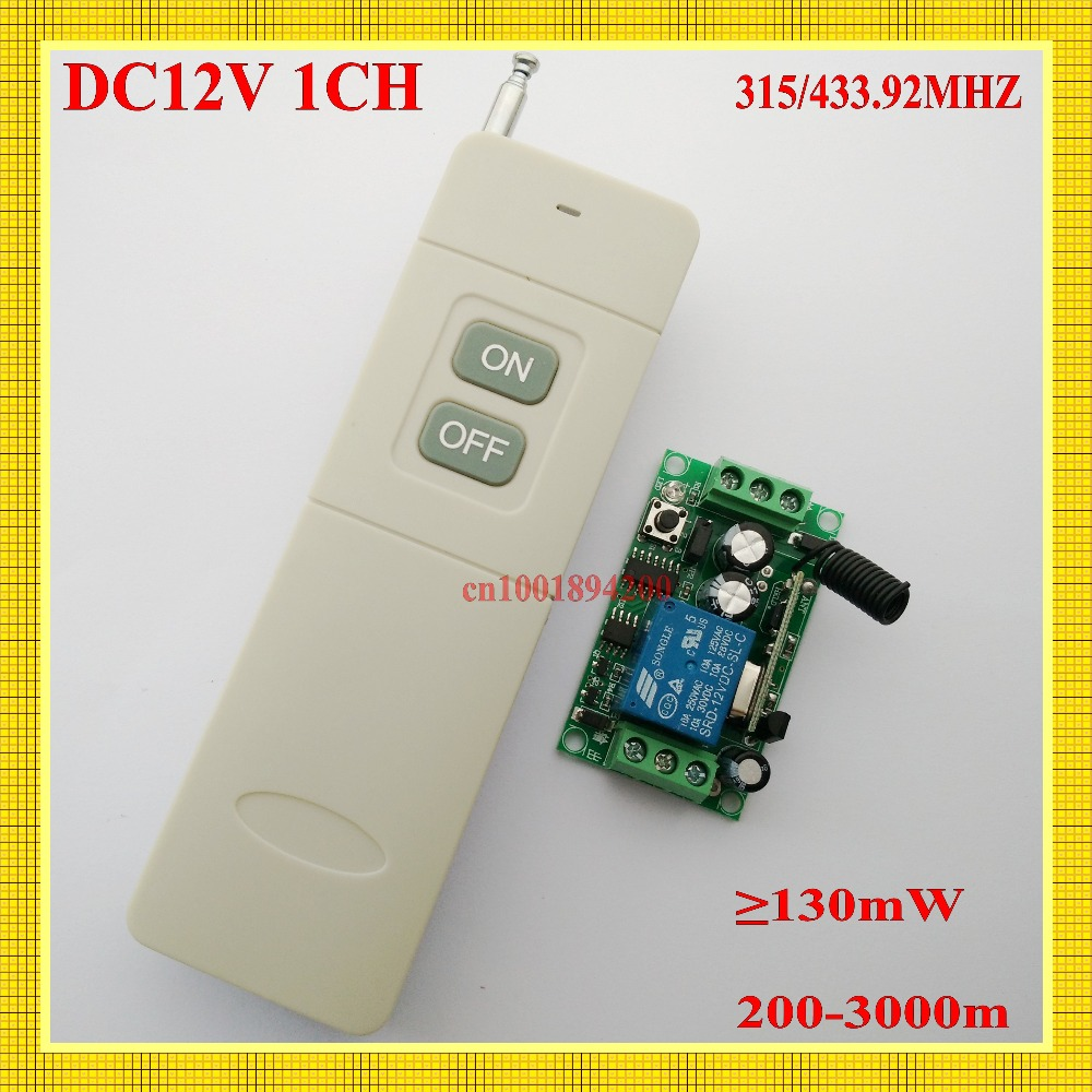 200m - 3000m Long Range Remote Switch Far Distance Relay Contact Wireless Switch courtyard <font><b>Outdoor</b></font> Farm Garden Lamp LED <font><b>Lighting</b></font>