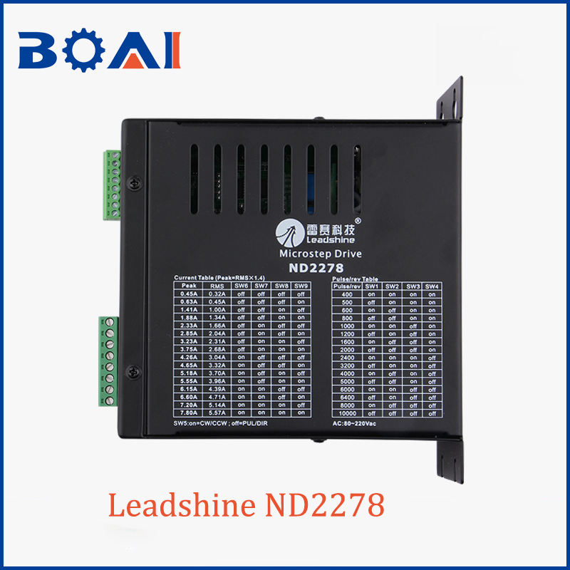 Stepper Motor Driver ND2278 Leadshine Brand Cnc Router Parts 80-220V