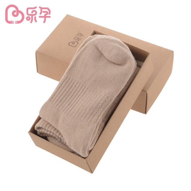 Материнство хлопок носки месяц беременных женщин весной и осенью зима Носок 4 пар набор женщин
