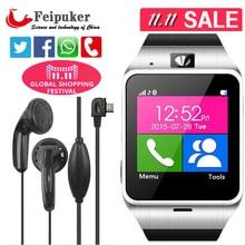 2016 neue aplus gv18 smart watch telefon gsm nfc kamera armbanduhr sim-karte smartwatch für samsung android-handy