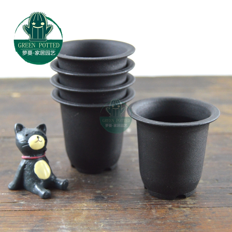 Vientiane scrub pot plastic flower pots succulents Sedum Yulu dedicated 30 / Bag