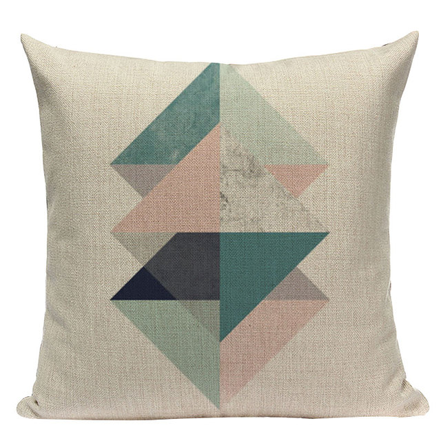 Nordic Pop Geometric Pillowcase Size: L313 Color: L313-9