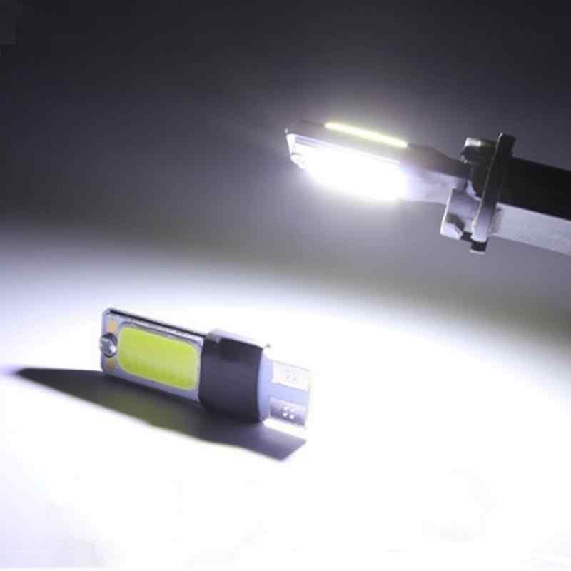 1pcs T10 W5W 194 192 168 COB Car Auto LED lamp bulb Interior Singnal Fog Parking No Error Clearance light