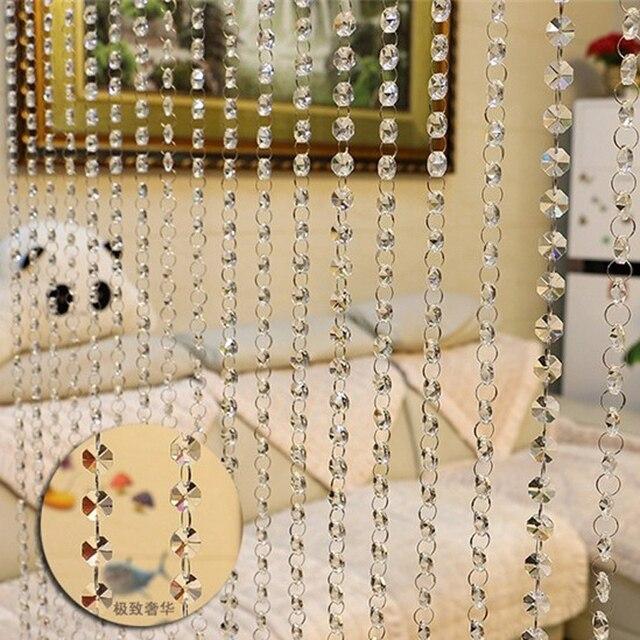 10 m/arredamento tenda perle di vetro tenda di Portello fase sfondo decorazione di cerimonia nuziale