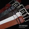 2016 new luxury jeans belt with pin belt buckle man designer riemen male kemer fashion high quality wholesale
