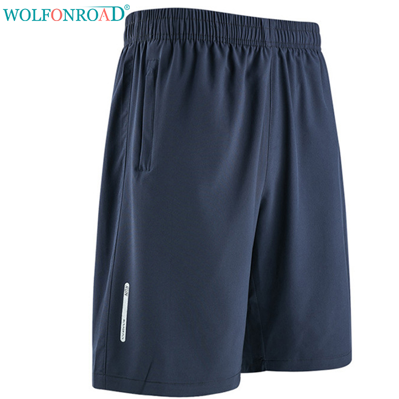 86f899af74c WOLFONROAD Summer Men s Quick Dry Shorts Thin Running Fitness Shorts Male  Hiking Sport Short Trousers Plus