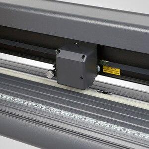 Image 5 - 저렴한 비닐 커터 34 인치 플로터 기계 870mm 종이 피드 스탠드