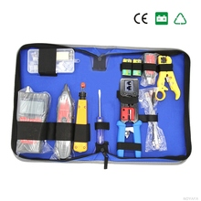 Network Combination Cable Wire Tester Crimping Cutter Punch Down Tools Kit RJ11 RJ45 Computer Network Tool