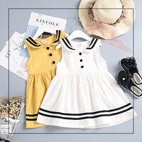 Schule Mädchen Kleid Langarm 2017 Marke Navy Prinzessin Kleid Mädchen Kleidung Tier Muster Kinder Kostüme Kinder Kleider