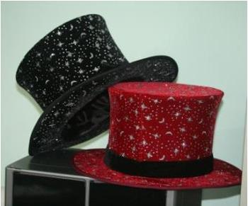 Best Quality Magic Folding Top Hat Assorted Color - Magic Props,How To Magic,Magic Show Kit,Magic Props For Stage фото