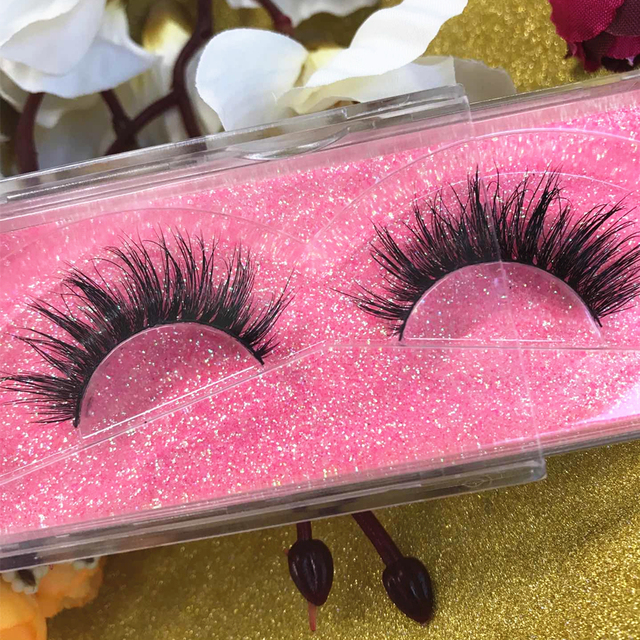 4f67fa11c72 Top 3D Mink Lashes Customize boxes Cruelty Free Handmade Eyelashes Top Real Mink  Eyelashes Extension Top