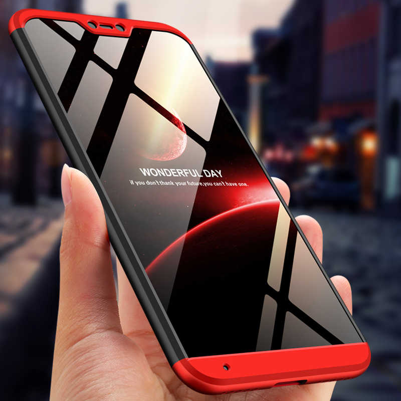 GKK Case untuk Xiao Mi Mi A2 Lite A3 CC9e Catatan 10 CC9 Pro Case 360 Full Protection Hard Pc cover untuk Merah MI 6 Pro A2 Lite Case Funda