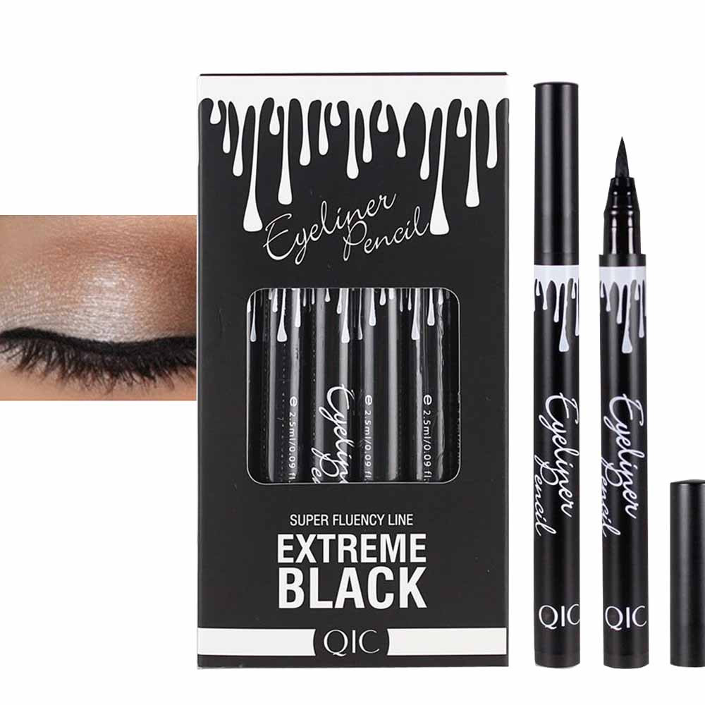 Womens Fashion High Quality Beauty Eye Liner Eyeliner Quick-dry Waterproof Make Up Eyeliner Pen Fift for Your Friends and Family gold earrings for women