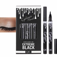 Womens Fashion High Quality Beauty Eye Liner Eyeliner Quick-dry Waterproof Make Up Eyeliner Pen Fift for Your Friends and Family Eye