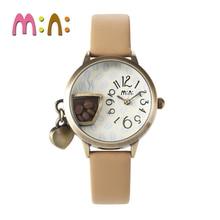 2017 MINI Kids Reloj Niños Reloj de La Manera Linda Simple Girls Corea Taza De Café Del Reloj A Prueba de agua