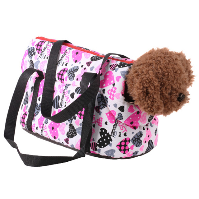 Travel Shoulder Bag with Dog