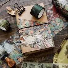 1X Retro decoration series tape washi sticker scrapbooking planner masking tapes office adhesive kawaii DIY stationery