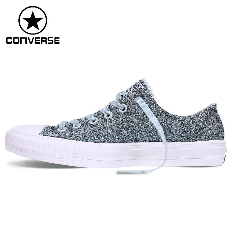 Prix pour Original Nouvelle Arrivée Converse Chuck Taylor Unisexe Planche À Roulettes Chaussures Toile Sneakers