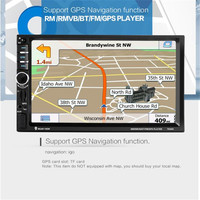 7'' HD Bluetooth Touch Screen Car GPS Stereo Radio 2 DIN FM/MP5/MP3/USB/AUX P30 Support Drop Shipping Sep 13
