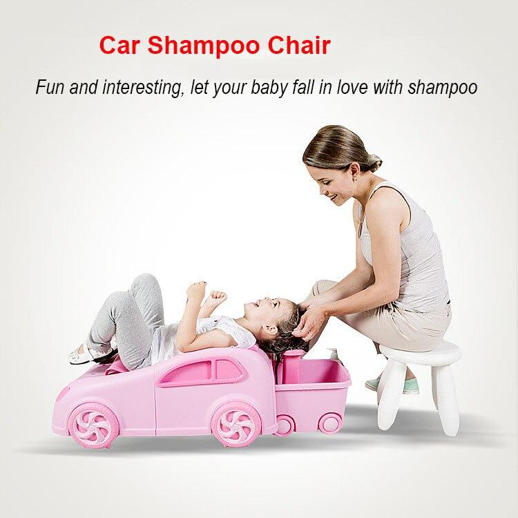 Bébé siège de bain shampoing pour enfants Chaise Bébé de Shampooing Chaise Shampooing Lit Peut Pliage Enfants Baignoire