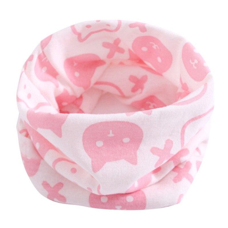 Весенний детский хлопковый шарф, теплый шарф для маленьких детей, осенне-зимние шарфы с героями мультфильмов для мальчиков и девочек, детский воротник с круглым вырезом, волшебный шейный платок - Цвет: 22