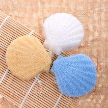 1Pcs 100% Natural Konjac Sponge Cosmetic Puff Face Cleaning Sponge Natural Konjac Puff Facial Cleanser Tools Wash Flutter Sponge natural 100