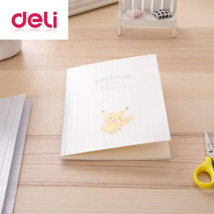 Deli Film Book-Cover Self-Adhesive 32k-Books for 10pcs Material CPP Slipcase Transparent
