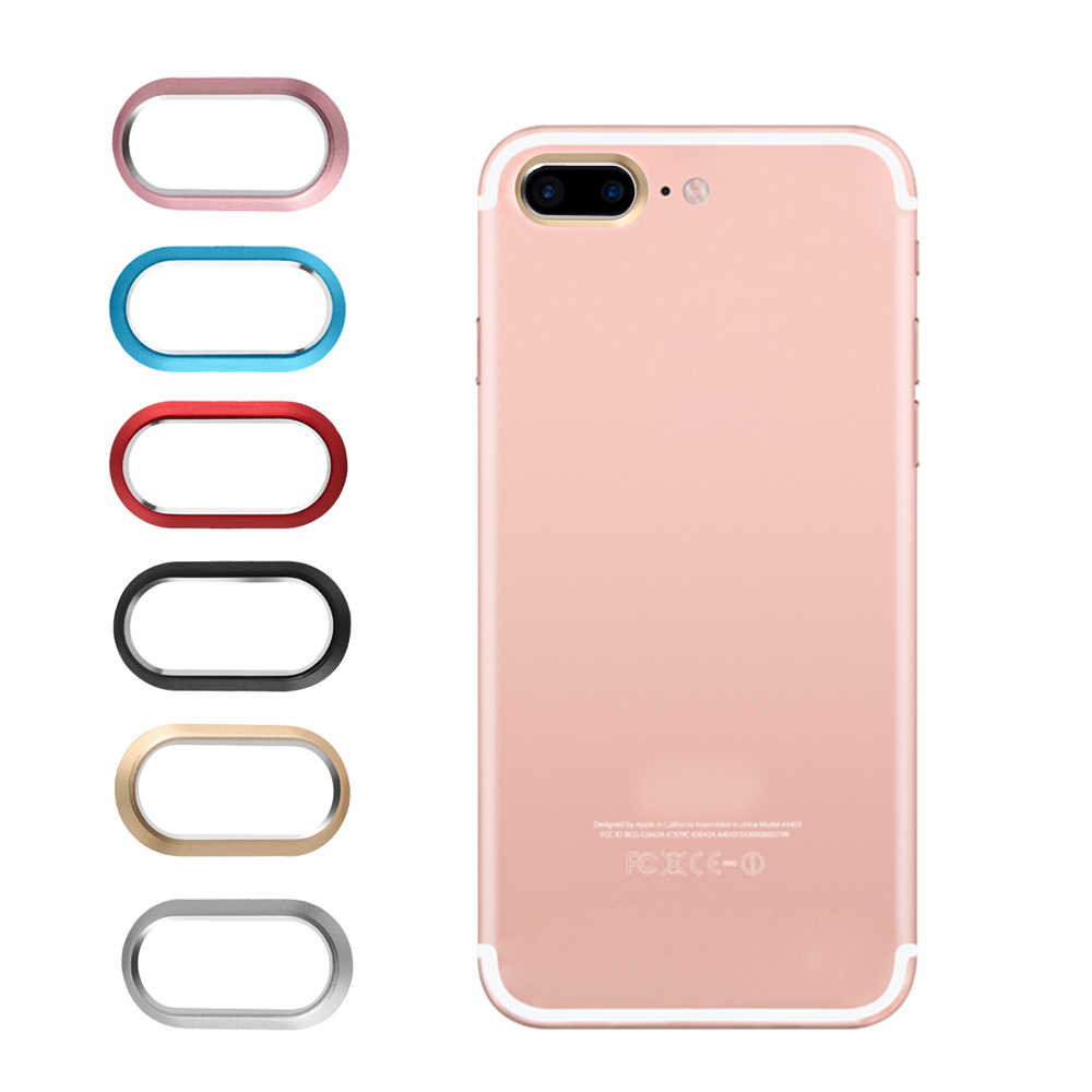 Smart Phone Camera Metal Rear Camera Lens Protector Case Cover Ring Bumper for iphone 7plus 8plus lens Protection Ring