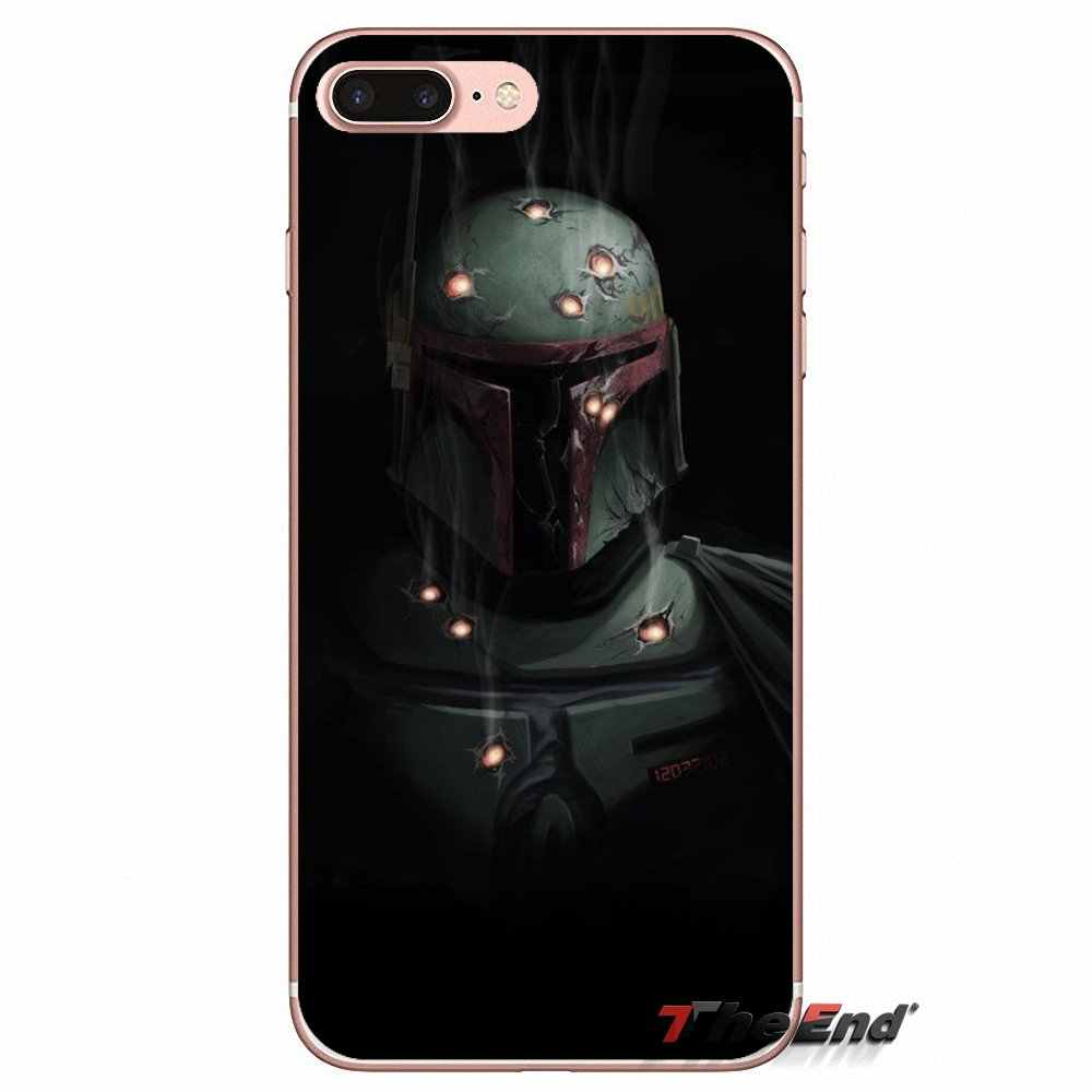 finest selection 05055 aadc5 Boba Fett minimalism render Star Case Wars For iPhone X 4 4S 5 5S 5C SE 6  6S 7 8 Plus Samsung Galaxy J1 J3 J5 J7 A3 A5 2016 2017