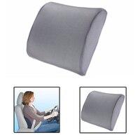 Cushion Memory Foam Lumbar Back Support Cushion Pillow For Home Car Auto Seat Free Shipping